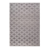Vloerkleed 'Reynaldo' 160 x 230cm, kleur grijs