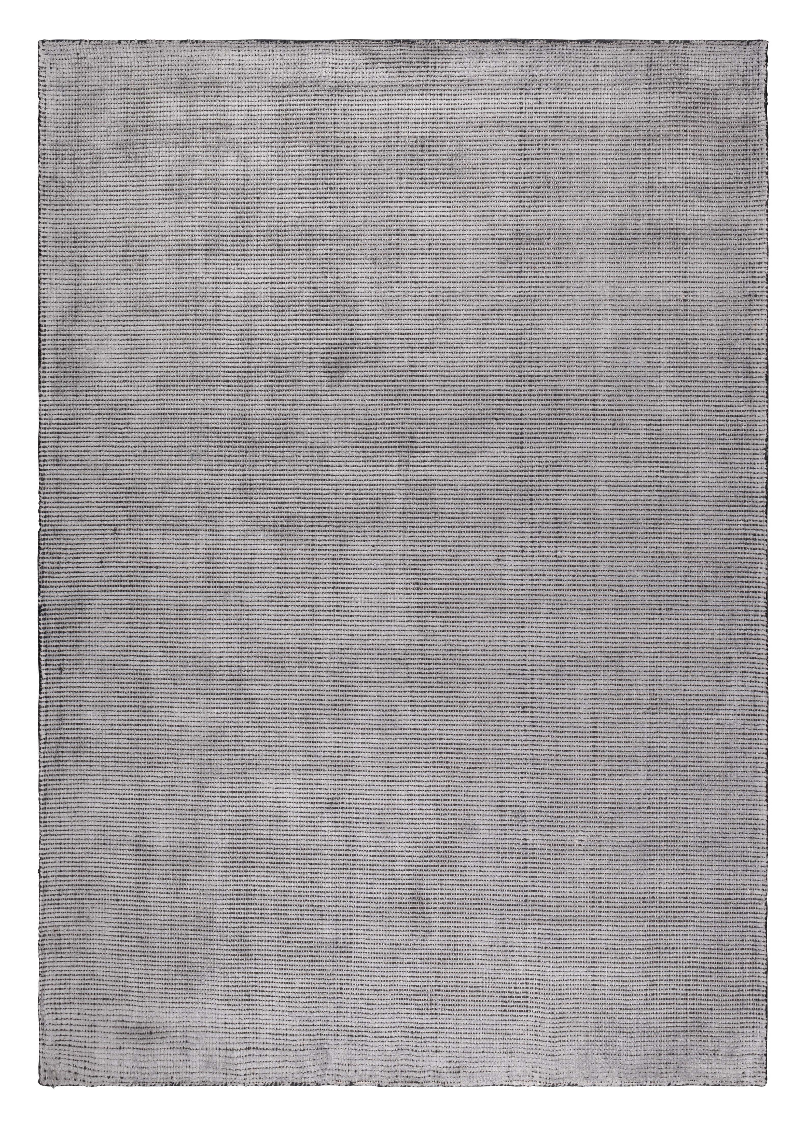 Vloerkleed 'Rymer' 170 x 240cm, kleur staalgrijs 60% viscose, 40% polyester aanschaffen? Kijk hier!