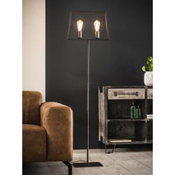 Vloerlamp 'Chazz' 2-lamps 155cm