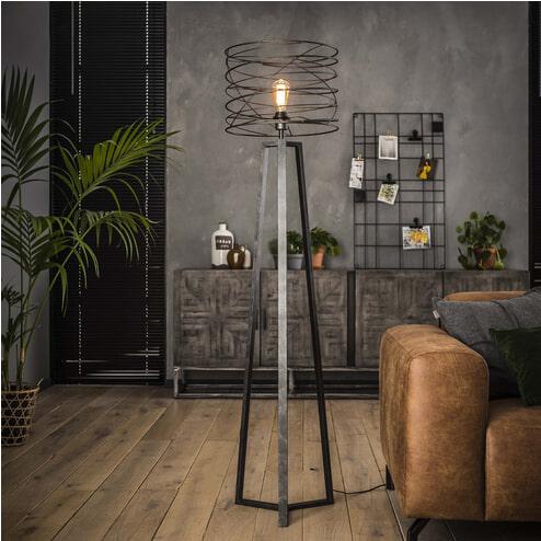 Vloerlamp 'Curl' 162 x Ø40cm