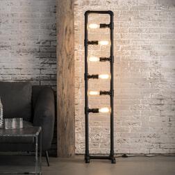 Vloerlamp 'Fallon' 6-lamps
