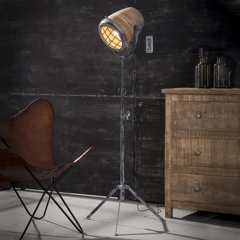 Vloerlamp 'Jean-Paul' XL (hoogte 112 - 184cm)
