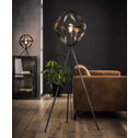 Vloerlamp 'Laurence' metaal driepoot, Ø50cm