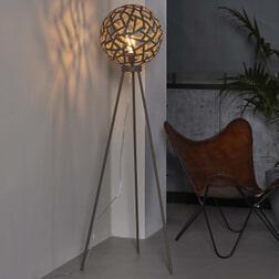 Vloerlamp 'Mikado' roestbruin, Ø30 cm