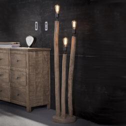 Vloerlamp 'Nicolas' 3-lamps