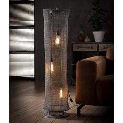 Vloerlamp 'Reese' Gaas, 120 x Ø30cm