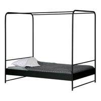 vtwonen Bed 'Bunk' 120 x 200cm, kleur Zwart
