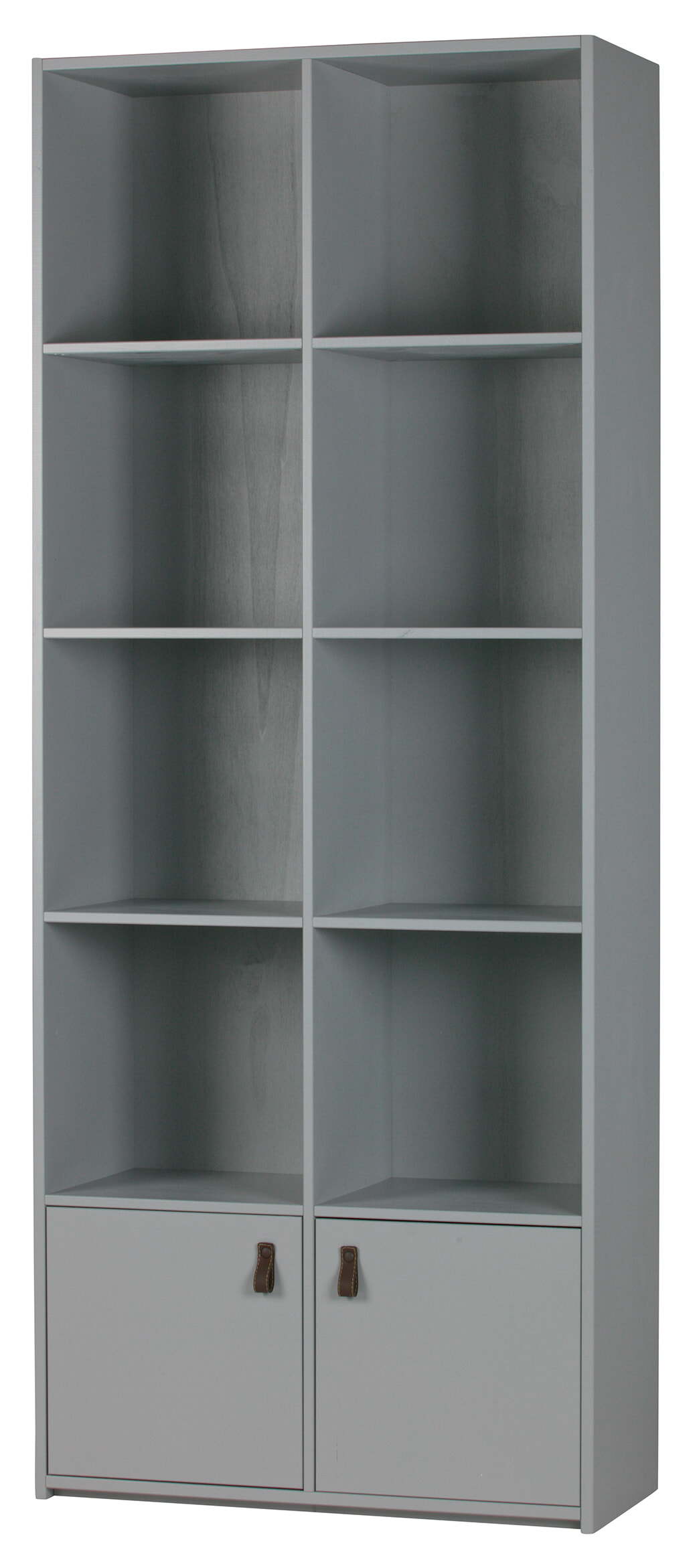 vtwonen Boekenkast 'Bookcase', kleur Betongrijs met voordeel snel in huis via Meubel Partner