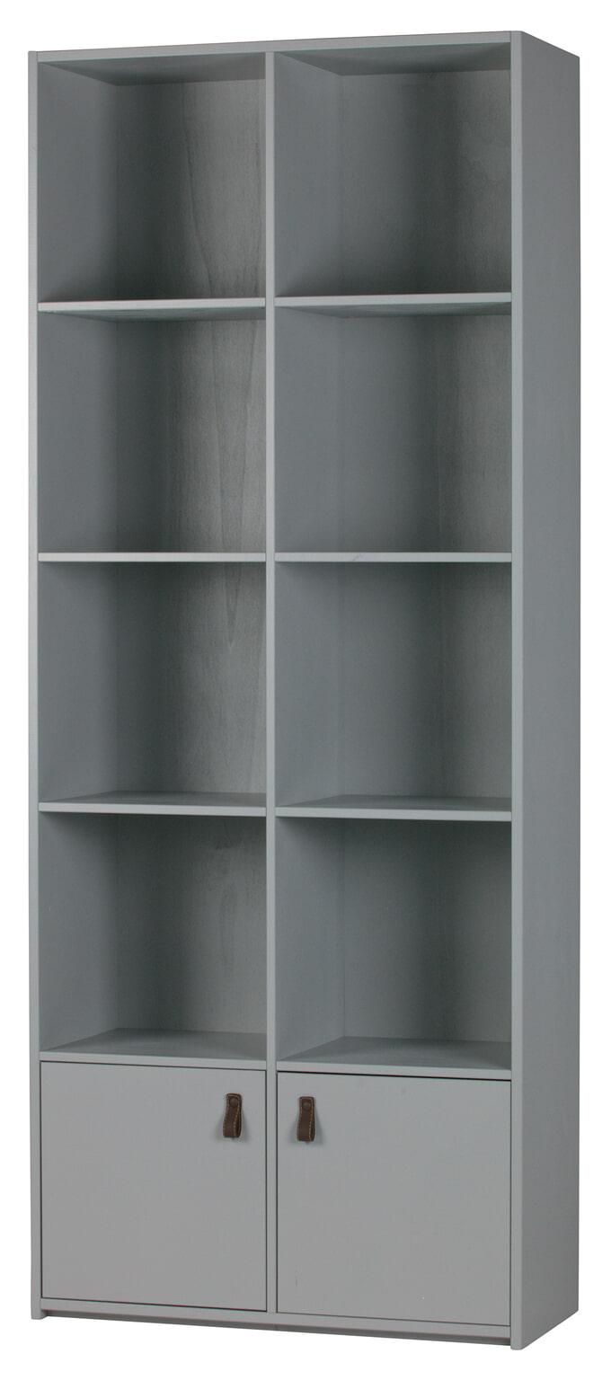 vtwonen boekenkast bookcase kleur betongrijs