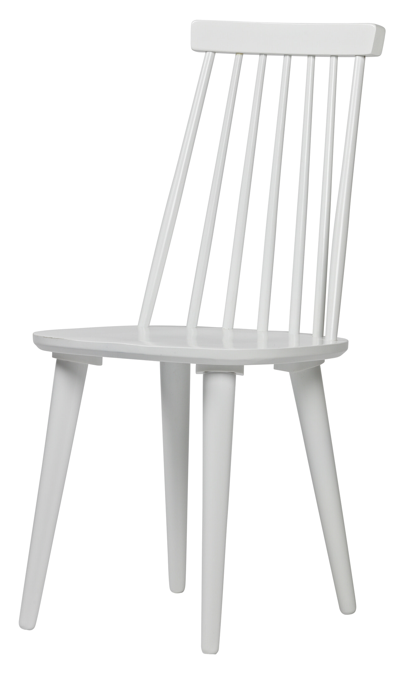 vtwonen Eetkamerstoel 'Sticks', kleur Wit met voordeel snel in huis via Meubel Partner