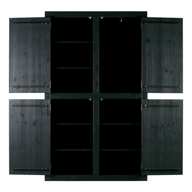 vtwonen Opbergkast 'Bunk', kleur Zwart