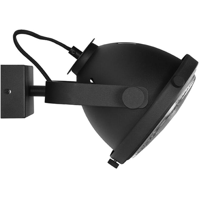 LABEL51 Wandlamp 'Tuk-Tuk', kleur Zwart