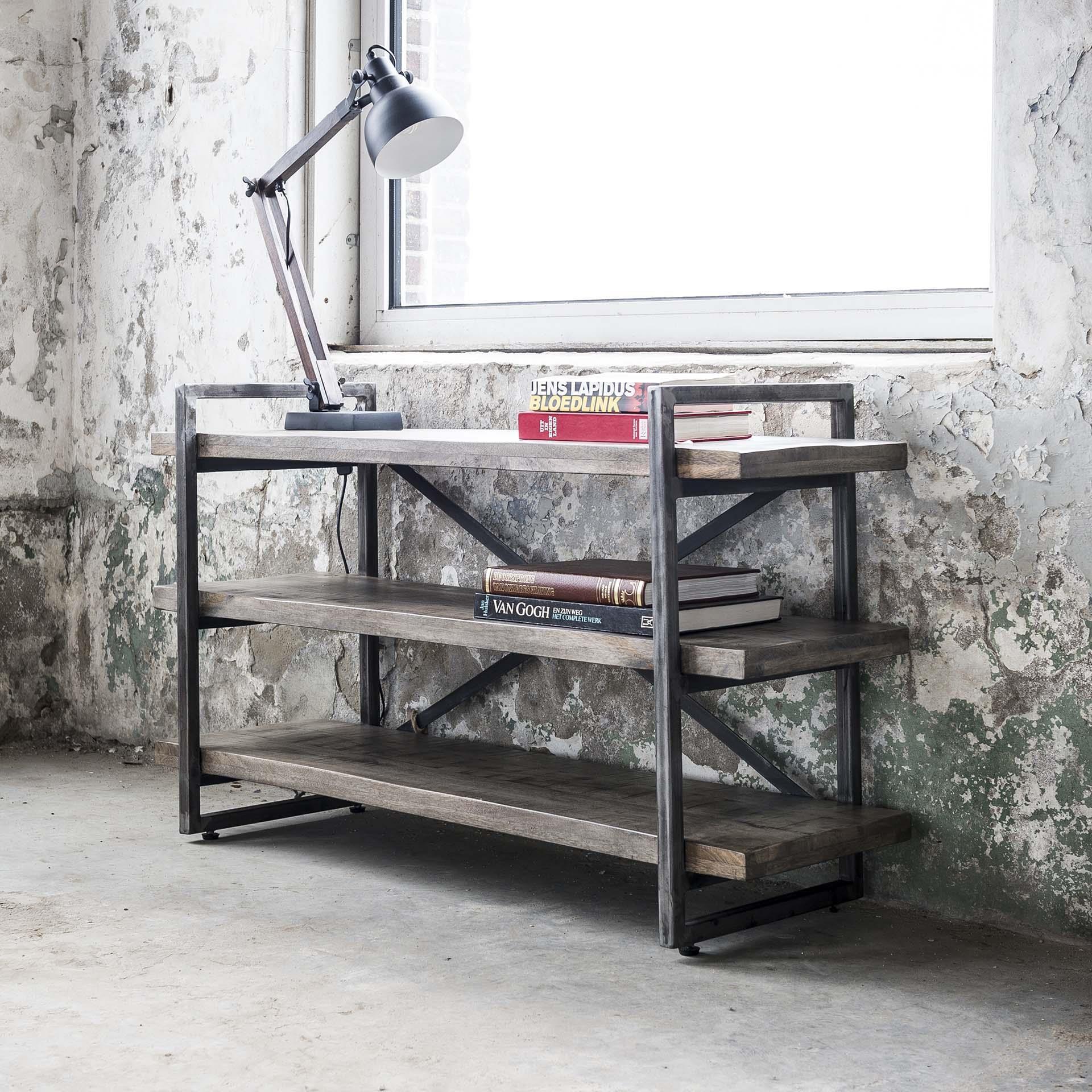 Wandrek 'Rift' 120cm Kasten   Overige kasten vergelijken doe je het voordeligst hier bij Meubelpartner