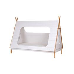 Woood Bed 'Tipi' 90 x 200cm, Incl. Lattenbodem