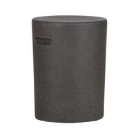 WOOOD Bijzettafel 'Duke' 35cm, kleur Donkerbruin