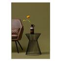 WOOOD Bijzettafel 'Suus' 35cm, kleur Zwart