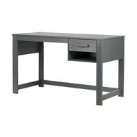WOOOD Bureau 'Dennis', kleur Steel grey