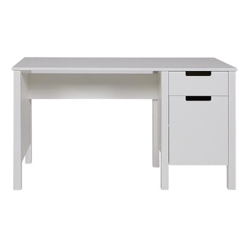 Woood Bureau 'Jade', kleur wit