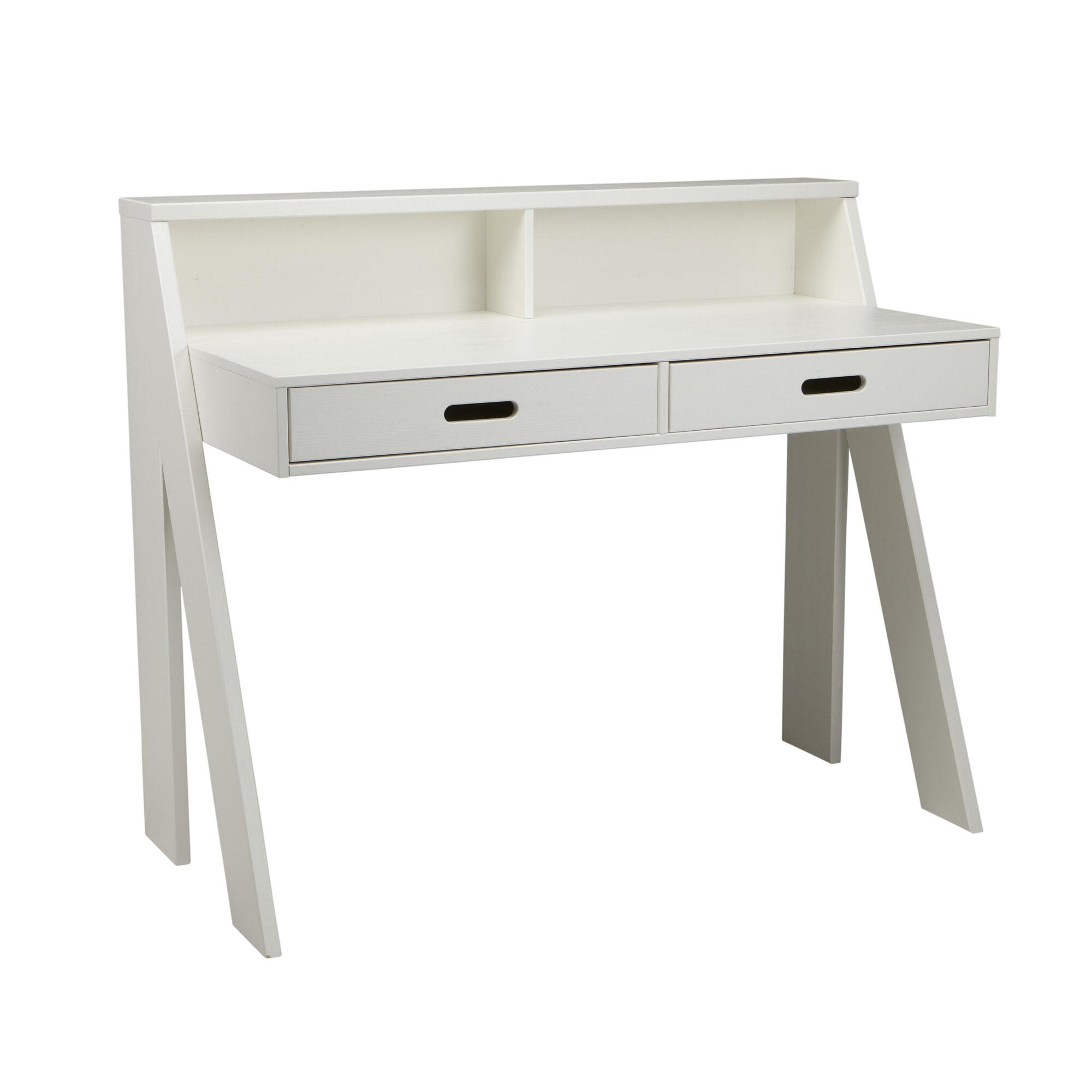 WOOOD Bureau 'Max', kleur wit Tafels | Bureaus vergelijken doe je het voordeligst hier bij Meubelpartner