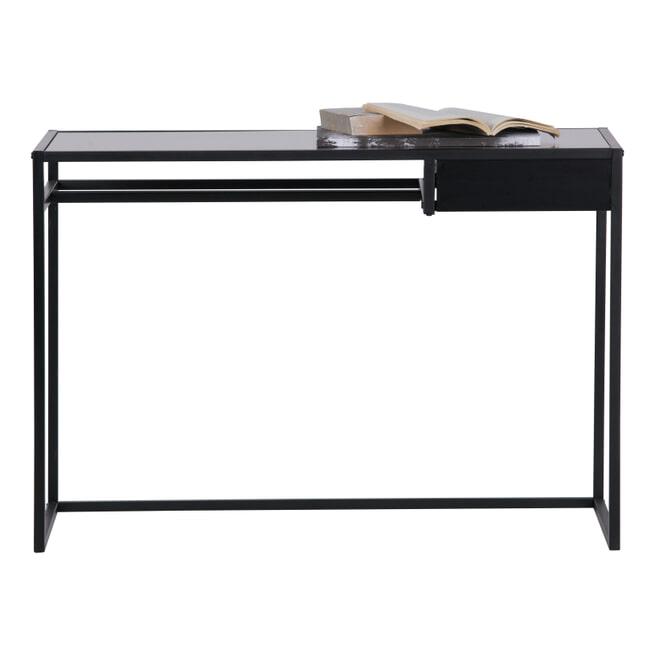 WOOOD Bureau 'Teun', kleur Zwart