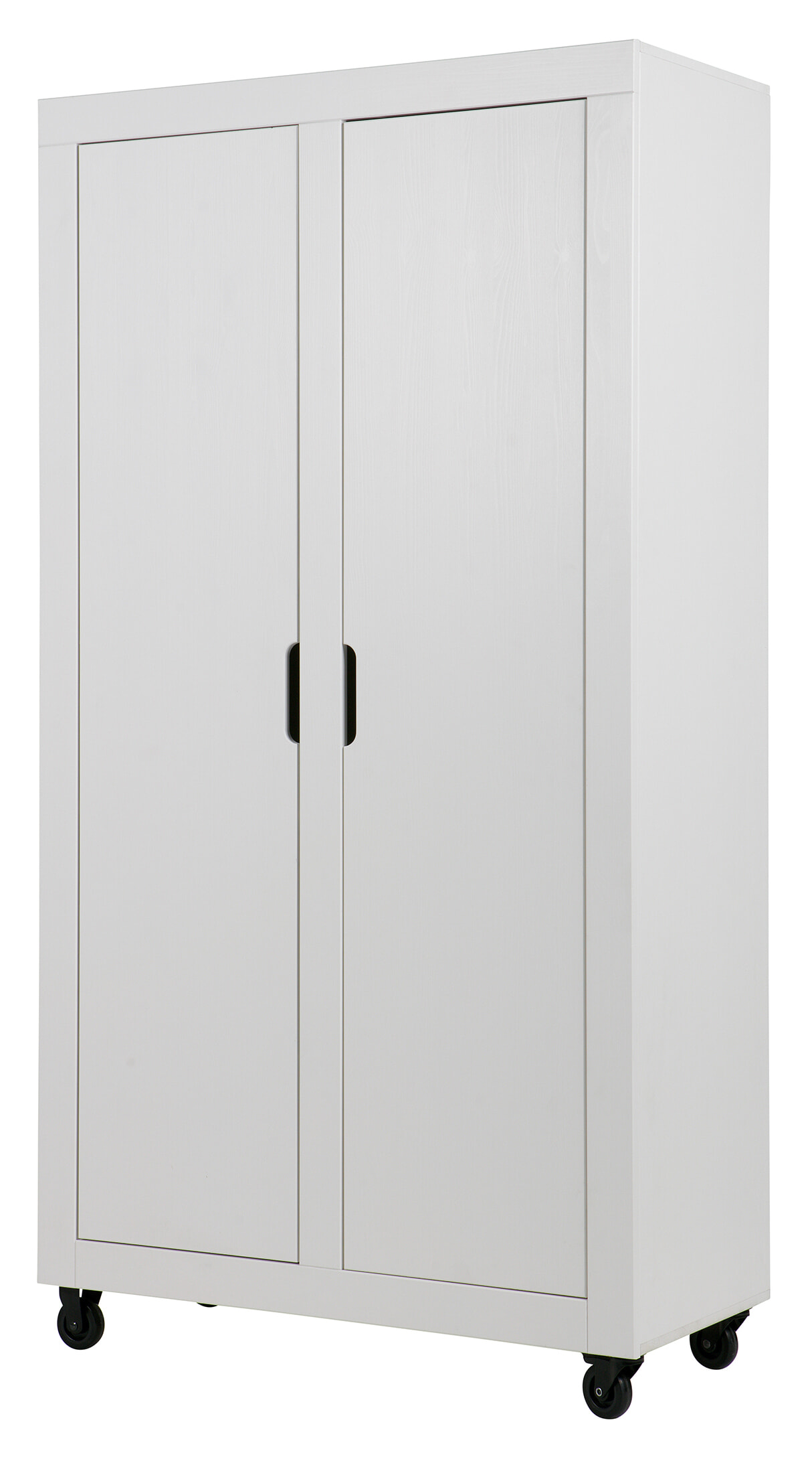 WOOOD OpbergKast 'Elon', kleur Wit Geschuurd Grenenhout, afgewerkt in de kleur wit aanschaffen? Kijk hier!