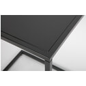 Woood Plantentafel 'Jasmin' 27cm, kleur Zwart