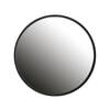 Woood Ronde Spiegel 'Lauren' 80cm, kleur Zwart
