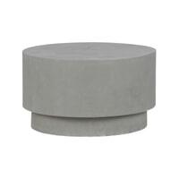 WOOOD Salontafel 'Dean' Beton 60cm, kleur Grijs