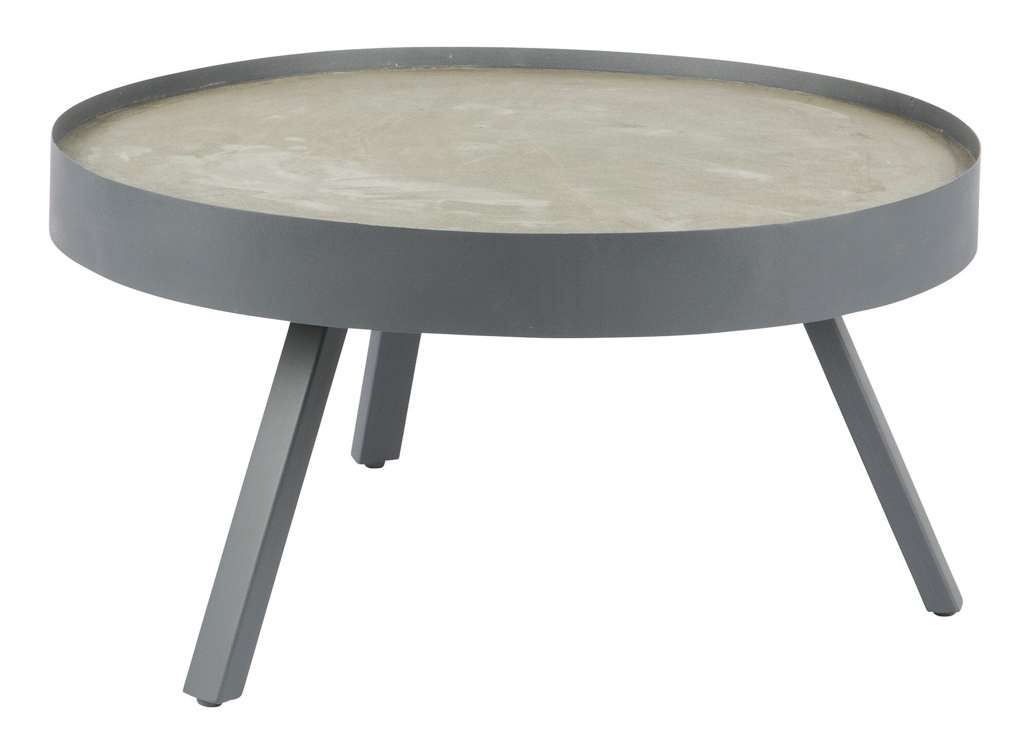 Woood Tafel Rond : Woood salontafel skip beton cm g meubelpartner
