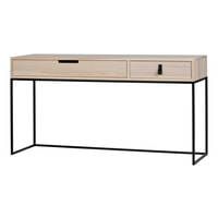 WOOOD Side-table 'Silas' 140cm, kleur naturel
