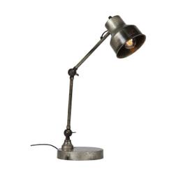 WOOOD Tafellamp 'Hector', kleur antiek zilver