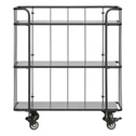 WOOOD Trolley 'Caro' Small, kleur Zwart