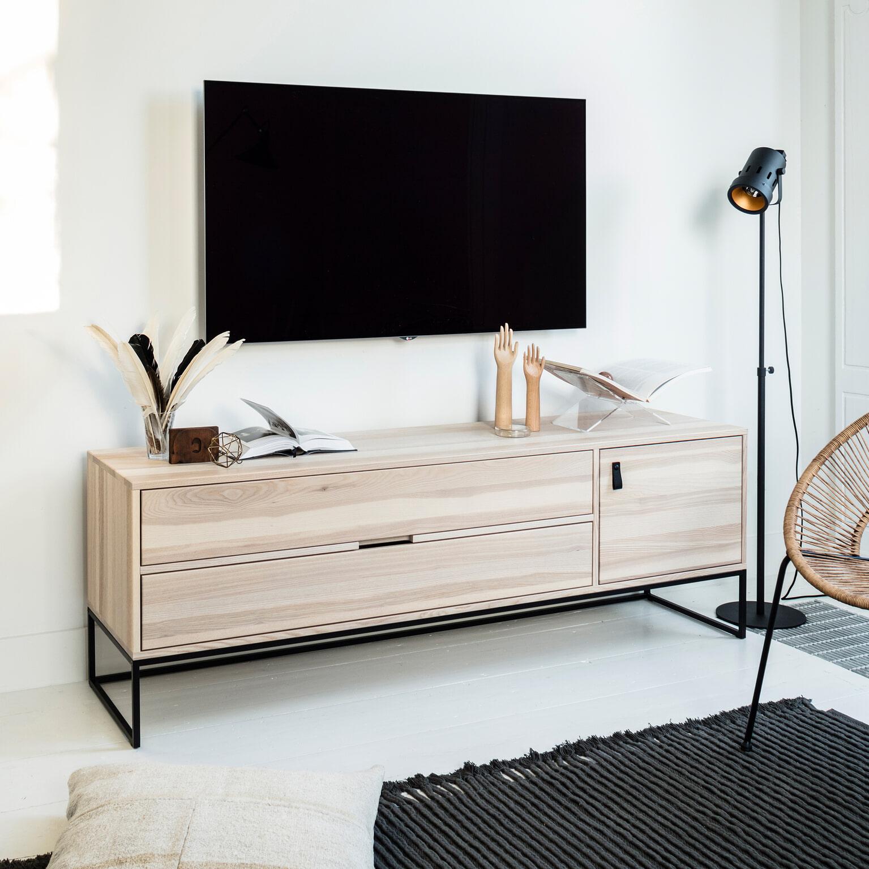 Nette Tv Kast.Woood Tv Meubel Silas Essen 180cm Kleur Sydney Woood Exclusive