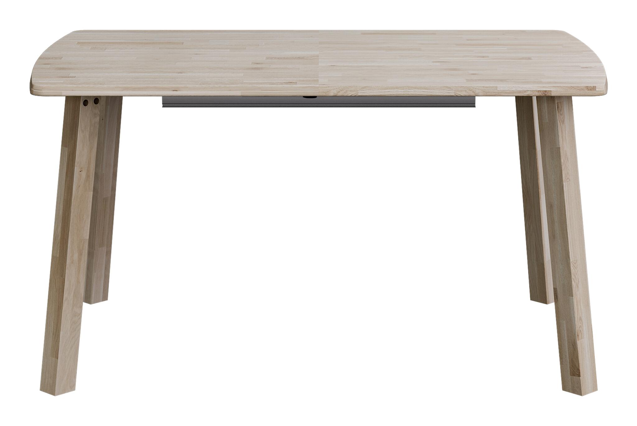 Witte Eettafel 220 Cm.Woood Uitschuifbare Eettafel Lange Jan 85 X 140 220cm Woood