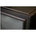 Woood Vitrinekast 'Maud' 145cm, kleur Zwart