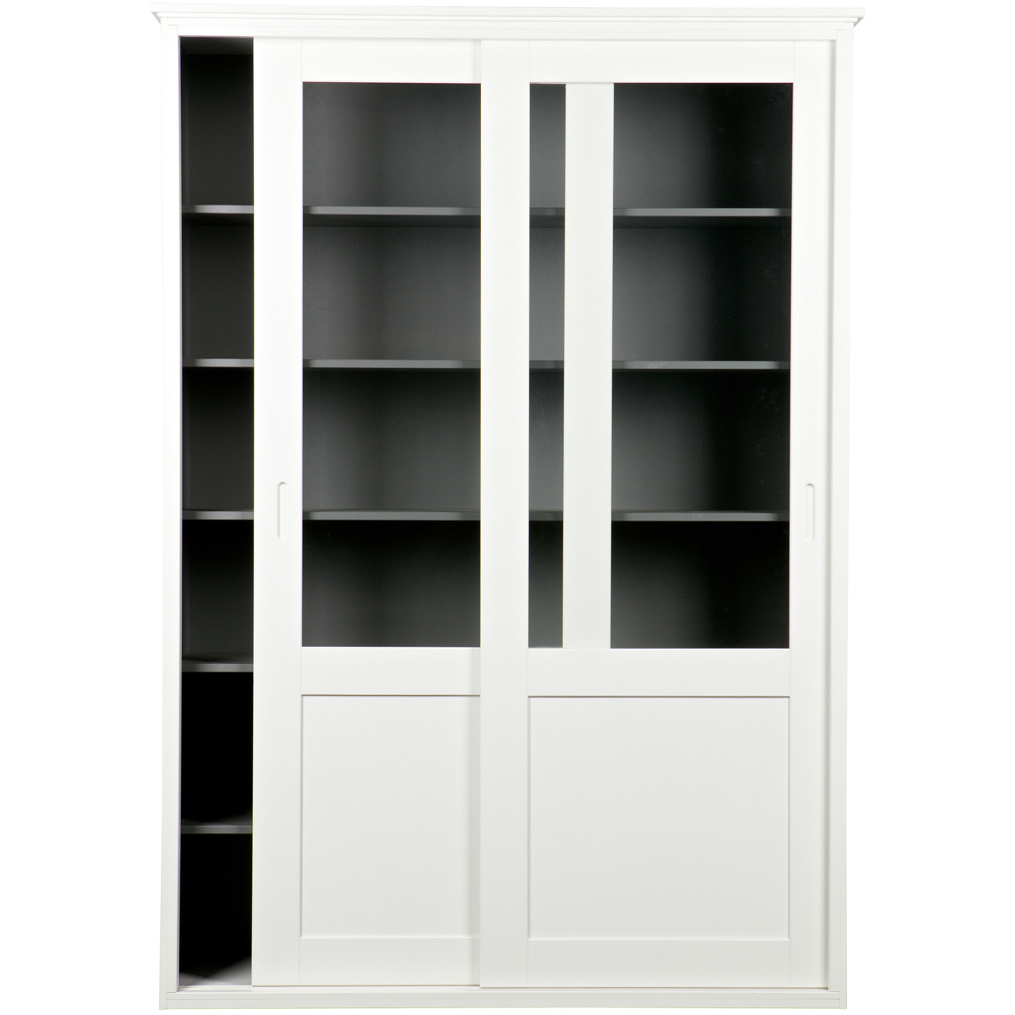 Op Design & Trends: Alles voor de inrichting van uw woning is alles over meubelen te vinden: waaronder meubelpartner en specifiek WOOOD Vitrinekast Vince met schuifdeuren, kleur wit (WOOOD-Vitrinekast-Vince-met-schuifdeuren-kleur-wit20856)