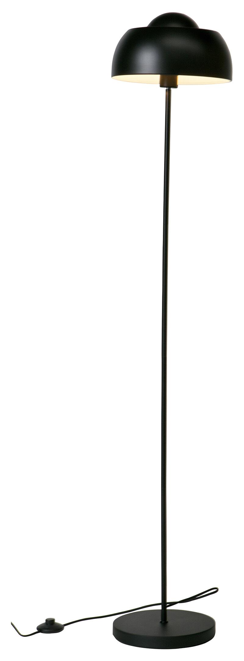 WOOOD Vloerlamp 'Yvet', kleur Zwart Metaal in kleur zwart gelakt aanschaffen? Kijk hier!