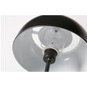 WOOOD Vloerlamp 'Yvet', kleur Zwart