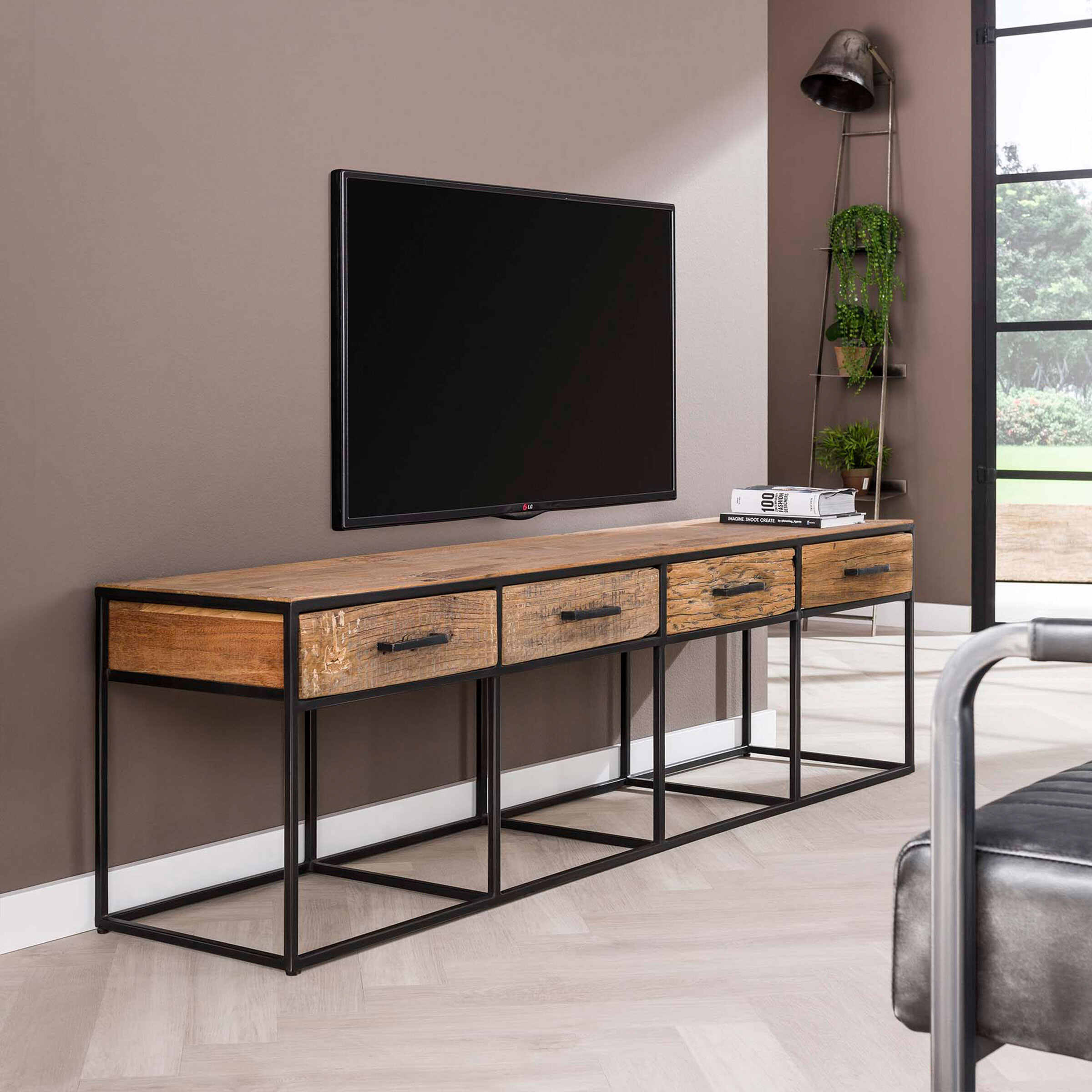 TV-meubel 'Tracy' met 4 laden, 180cm