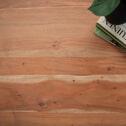 SoHome Eettafel 'Farron' boomstamblad met staal