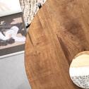 SoHome Bijzettafel 'Montgomery' Set van 2 stuks, massief acacia