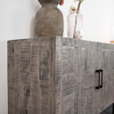 SoHome Industrieel Dressoir 'Barbra' massief mango-hout, 220cm