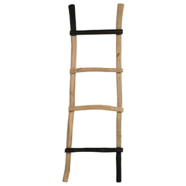 ZILT Decoratie ladder 'Edmundo' massief teak, 151cm