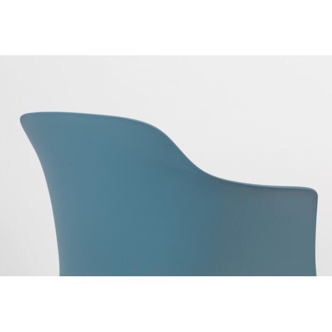 ZILT Eetkamerstoel 'Gry', kleur Blauw