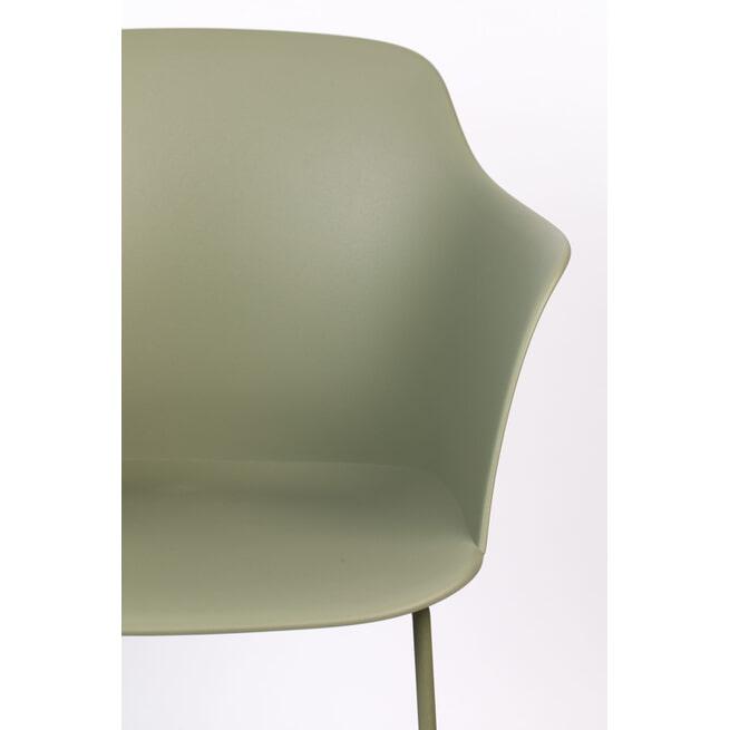ZILT Eetkamerstoel 'Hallander', kleur Groen