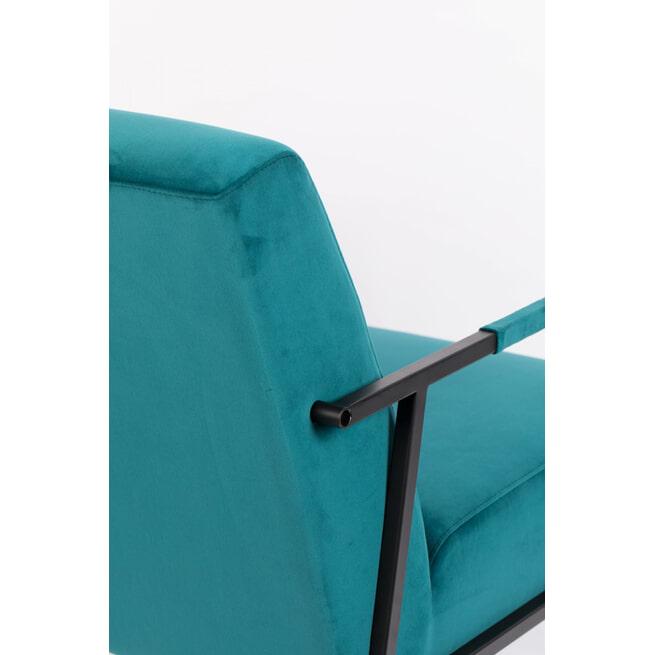 ZILT Fauteuil 'Dirch', kleur Blauw