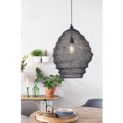 ZILT Hanglamp 'Povl' Large kleur zwart