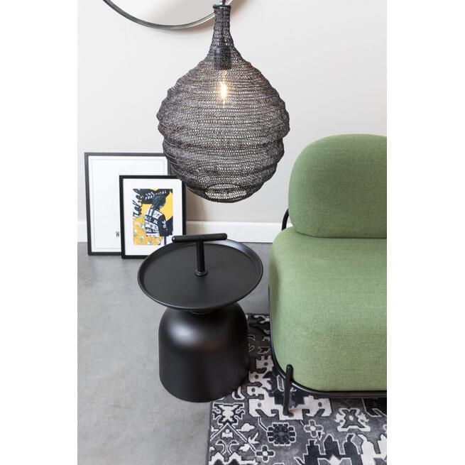ZILT Hanglamp 'Povl' Medium kleur zwart