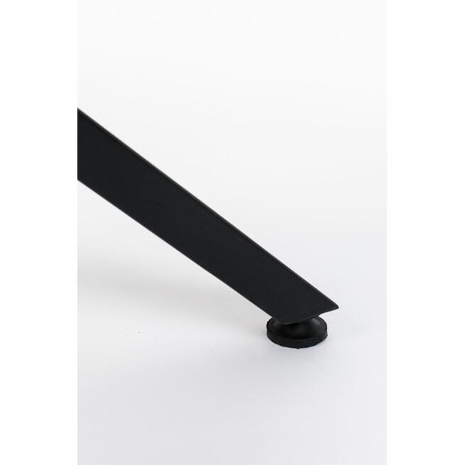 ZILT Industriële vierkante Eettafel 'Dinelson' 75 x 75cm