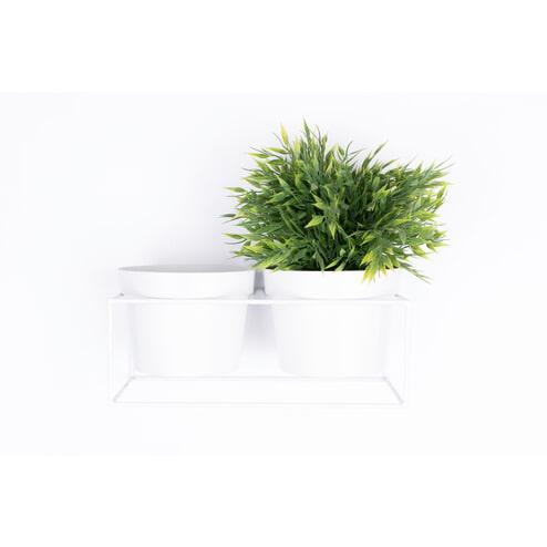 Zilt Plantenrek 'Adeiny' kleur Wit